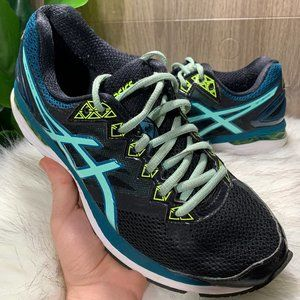 Asics Women's GT 2000 v4 Running Shoes Teal Shoes